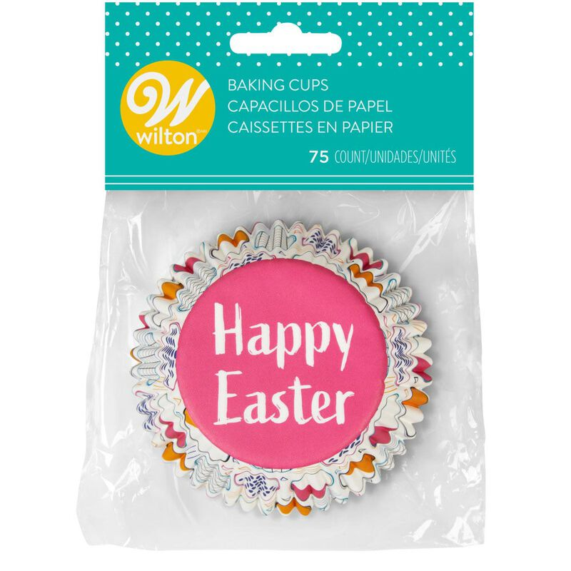 Happy Easter Cupcake Liners, 75-Count image number 1