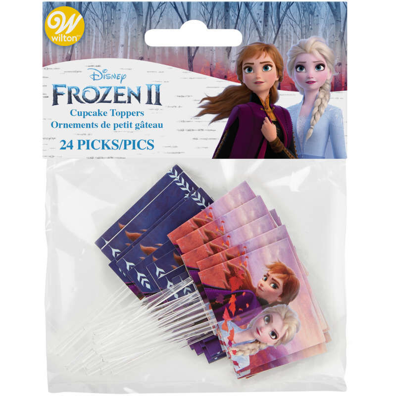 Disney Frozen 2 Cupcake Toppers, 24-Count image number 1