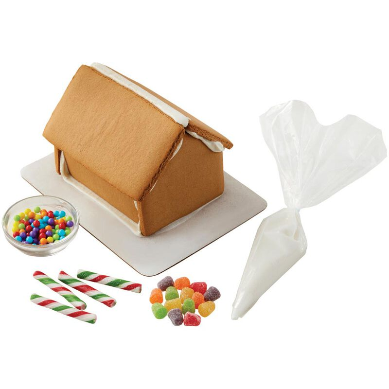 Ready to Decorate Full of Cheer Gingerbread House Decorating Kit image number 2