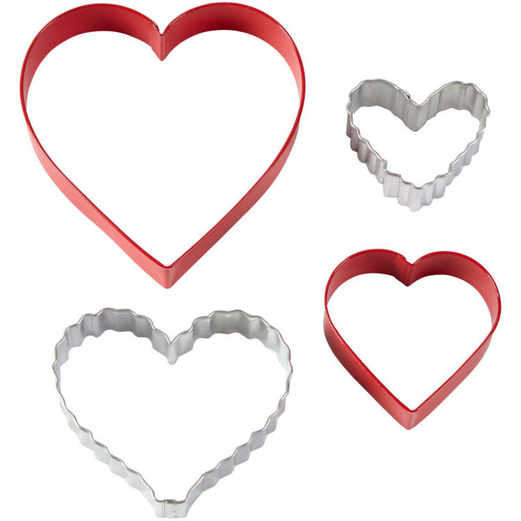 Nesting Heart Cookie Cutter Set, 4-Piece