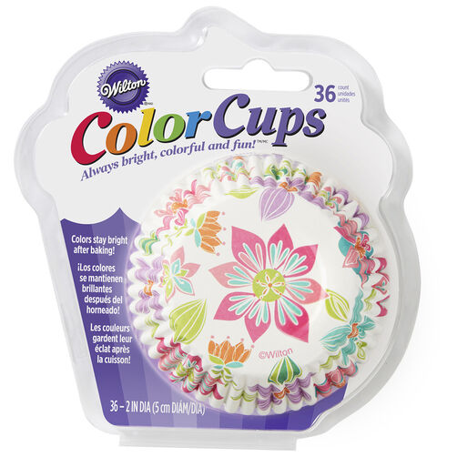ColorCup Artistic Delights Cupcake Liners