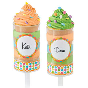 Treat Pop Labels Multicolor