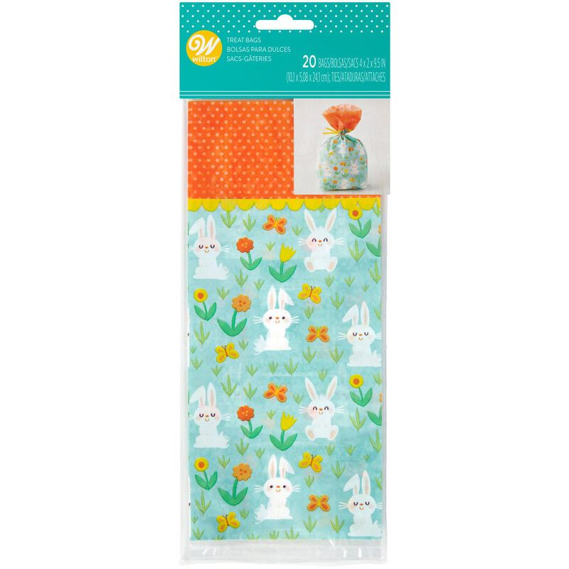 Bunny Easter Treat Bags, 20-Count image number 1