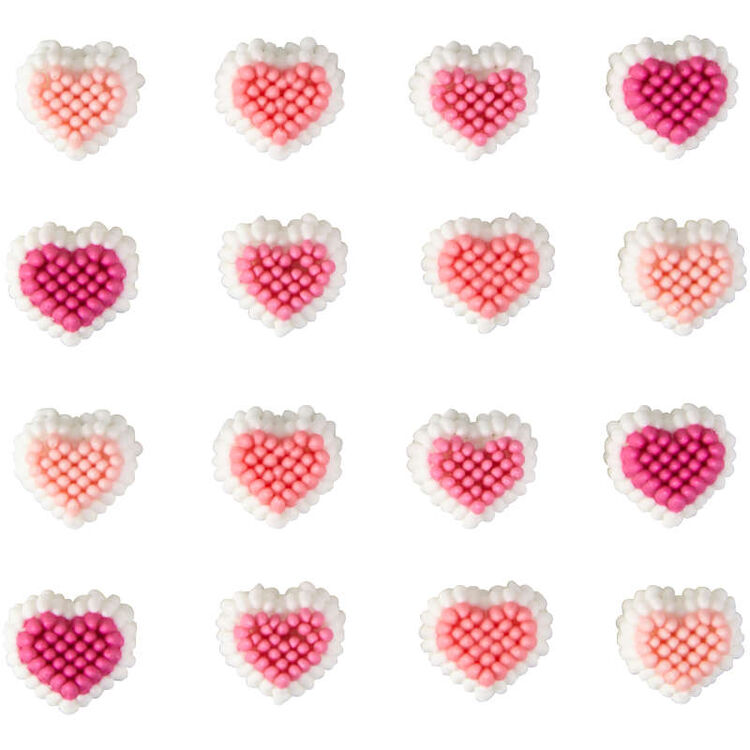 Mini Heart Candy Decorations Out of Packaging