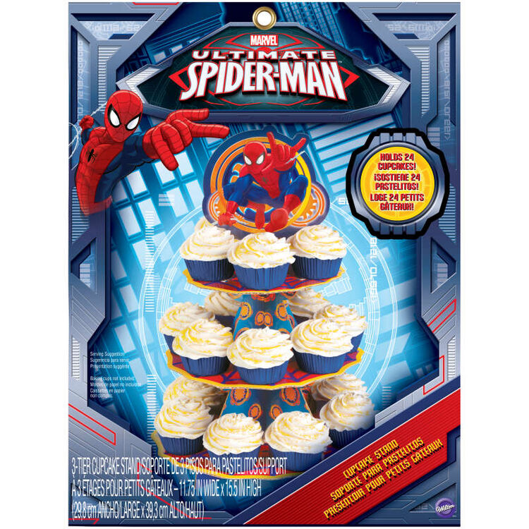 Spider Man Treat Stand in Packaging