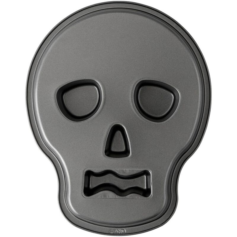 Skull Shaped Cake Pan, 9.5 x 12 Inch image number 2