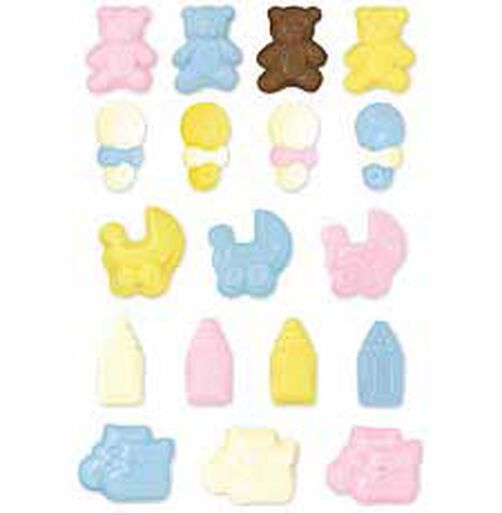 Mini Baby Icons Candy Mold