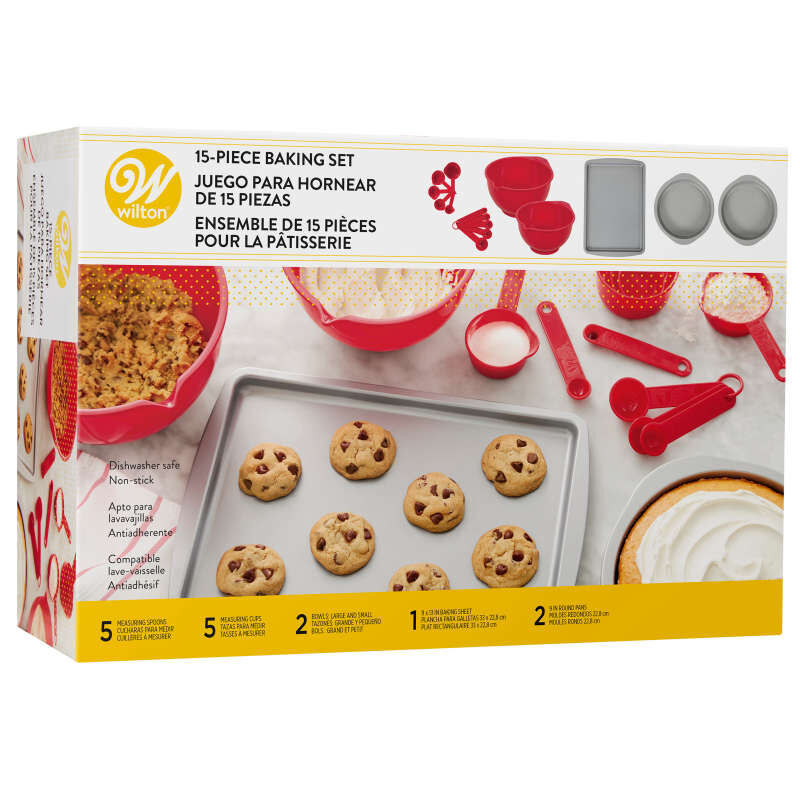 Non-Stick Baking Set, 15-Piece image number 0