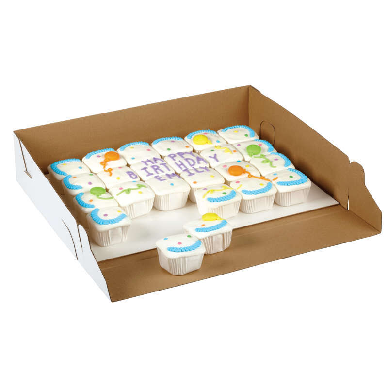 Birthday Cupcakes in Cake Box image number 3
