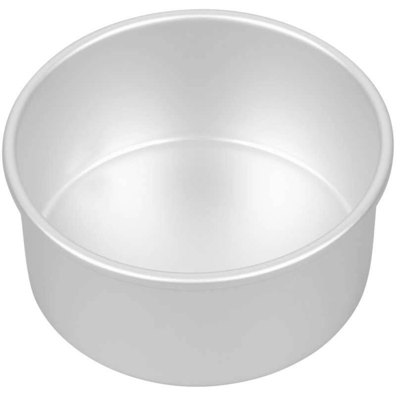 Decorator Preferred 6 x 3-inch Round Aluminum Cake Pan image number 2