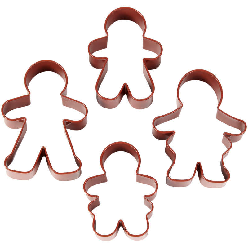 Gingerbread Family Cookie Cutter Set, 4-Piece image number 2