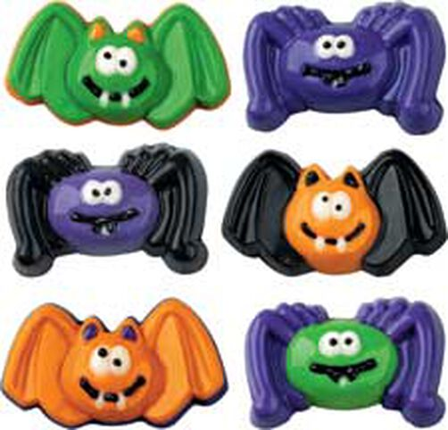 Bats and Spiders Candy Mold