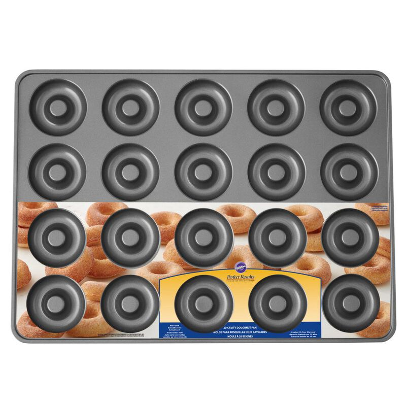Perfect Results Non-Stick Donut Pan, 20-Cavity Donut Baking Pan image number 1