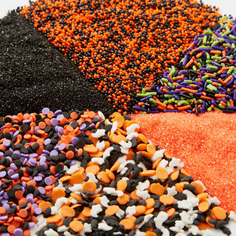 Halloween 6-Cell Sprinkles Mix, 6.56 oz. image number 2