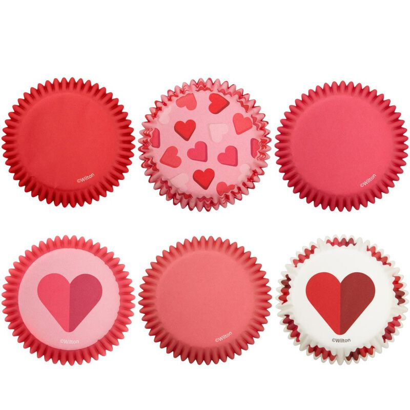 Valentine's Day Assorted Standard Cupcake Liners, 150-Count image number 2