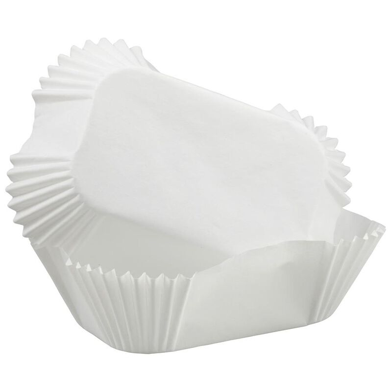 Wilton White Petite Loaf Baking Cups image number 1