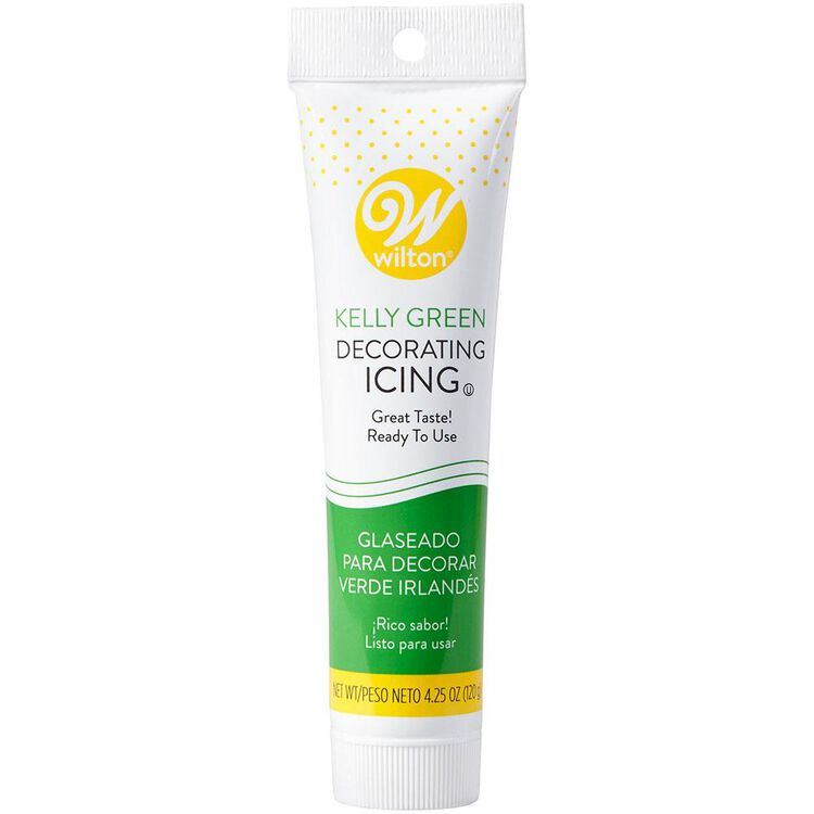 Kelly Green Ready-to-Use Icing Tube, 4.25 oz.