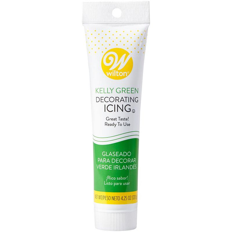 Kelly Green Ready-to-Use Icing Tube, 4.25 oz. image number 0