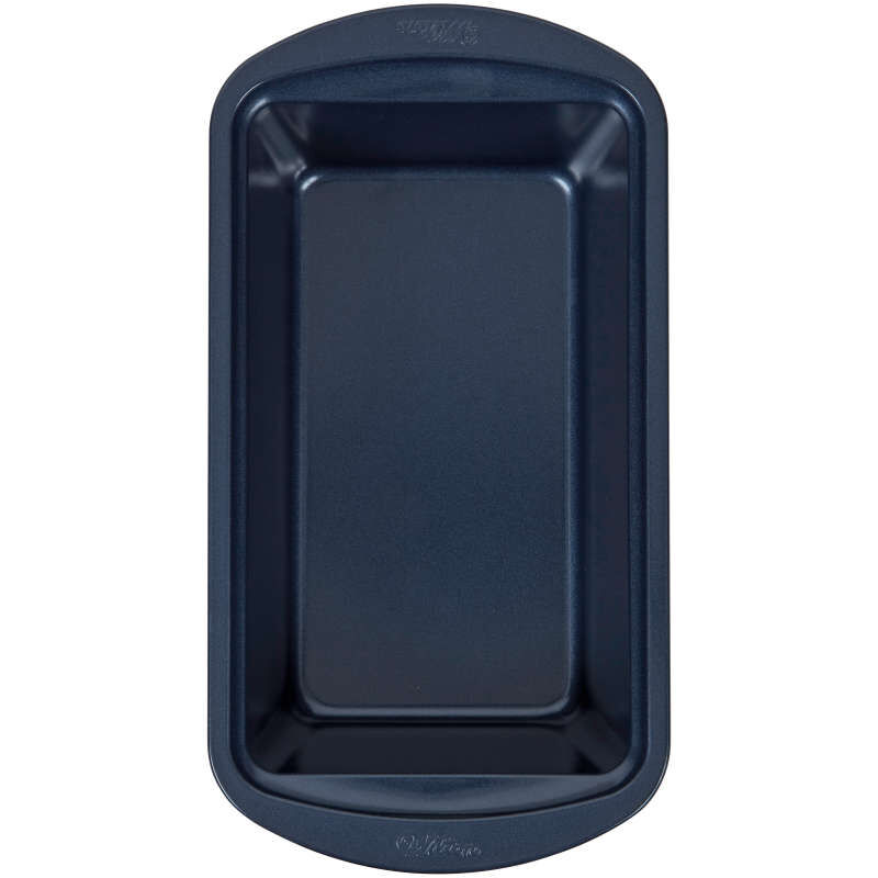 Diamond-Infused Non-Stick Navy Blue Loaf Baking Pan, 9 x 5-inch image number 0