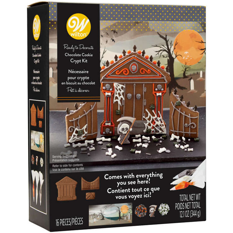 Ready to Build Chocolate Cookie Crypt Kit