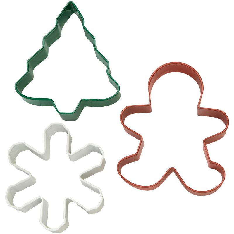 Holiday Cookie Cutter Set, 3-Piece image number 0