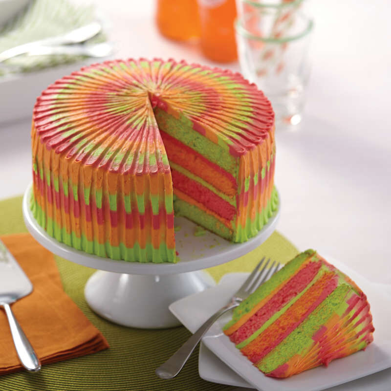 Easy Layers! Round Layer Cake Pans Set,  4-Piece image number 6