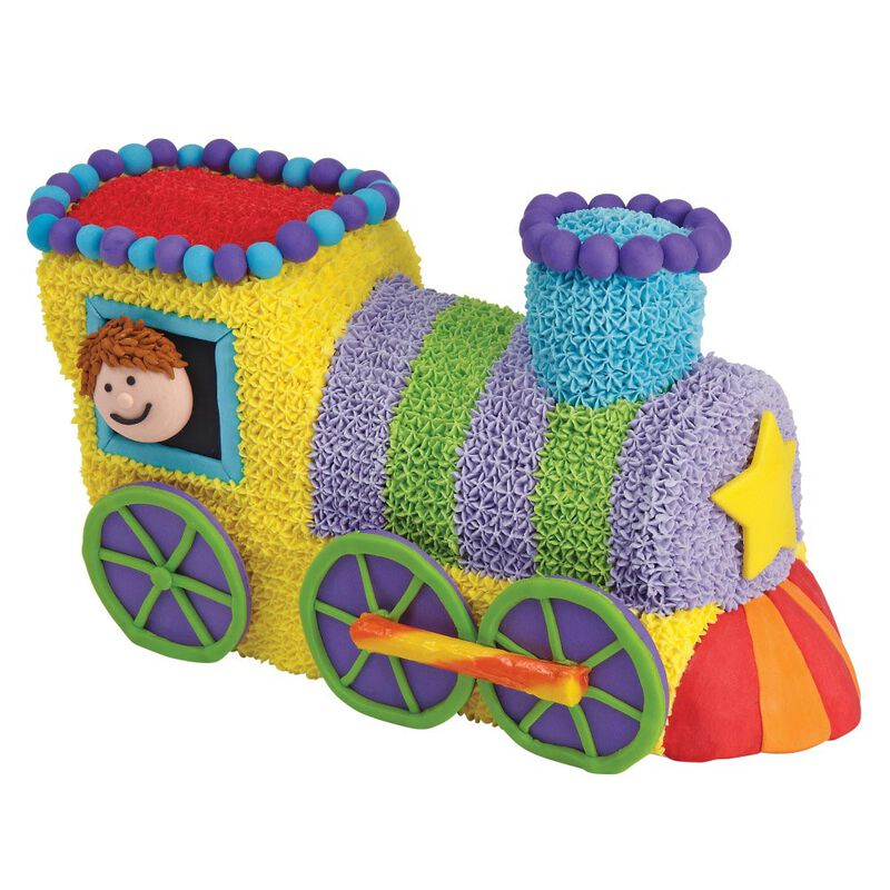 Train Cake Pan, 2-Piece Kids Birthday Cake Pan image number 2