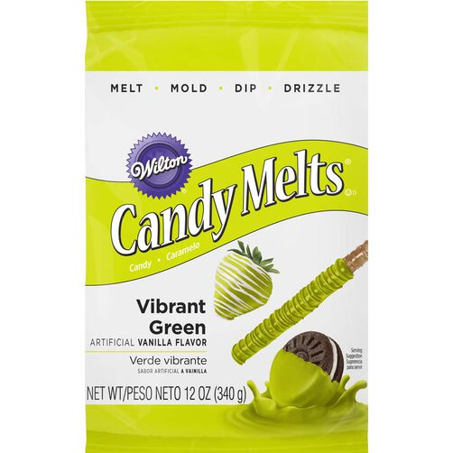 Vibrant Green Candy Melts Candy
