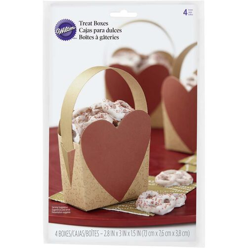 Heart Shaped Treat Bags