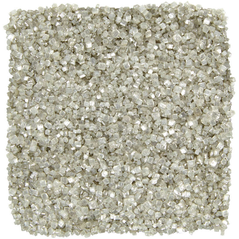 Silver Pearlized sugar, 5.25 oz. image number 2
