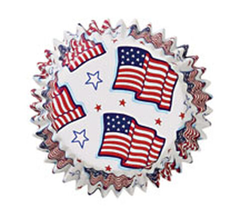 Old Glory Standard Baking Cups
