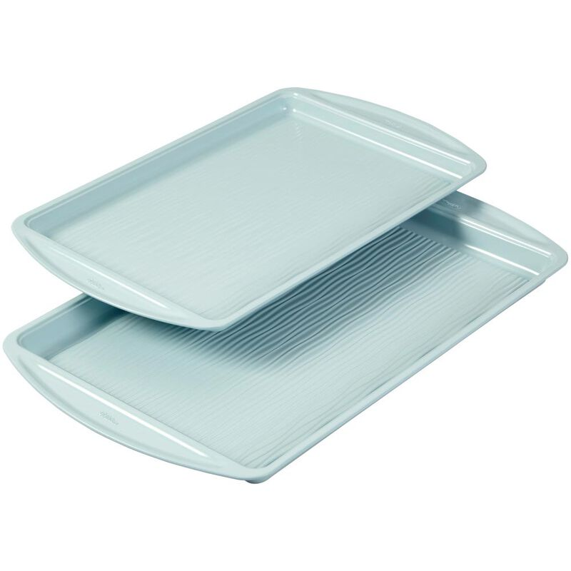 Texturra Performance Non-Stick Bakeware Cookie Pan Set, 2-Piece image number 2