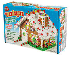 Captivating Pre Baked Ultimate Gingerbread House Kit