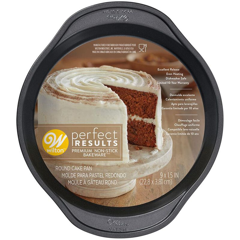 Perfect Results Round Non-Stick Cake Pan, 9 Inches image number 0