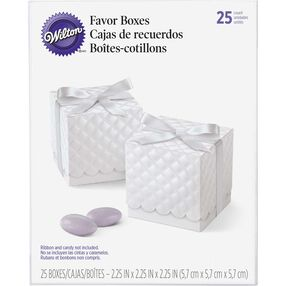 Scalloped Favor Boxes