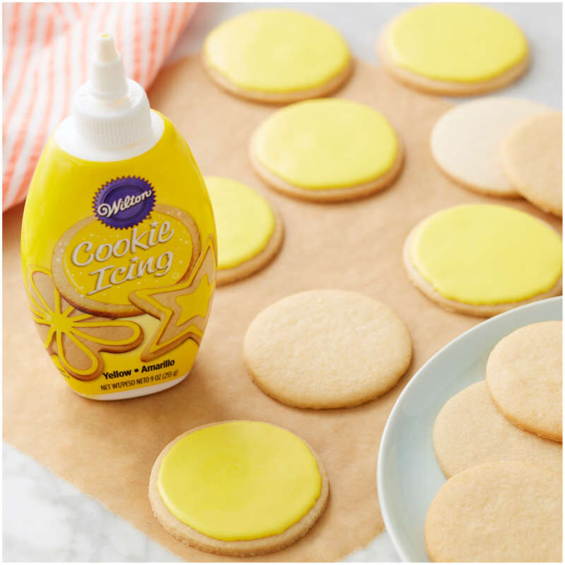 Yellow Cookie Icing  image number 2