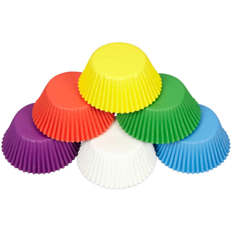 Rainbow Cupcake Liners, 150-Count image number 1