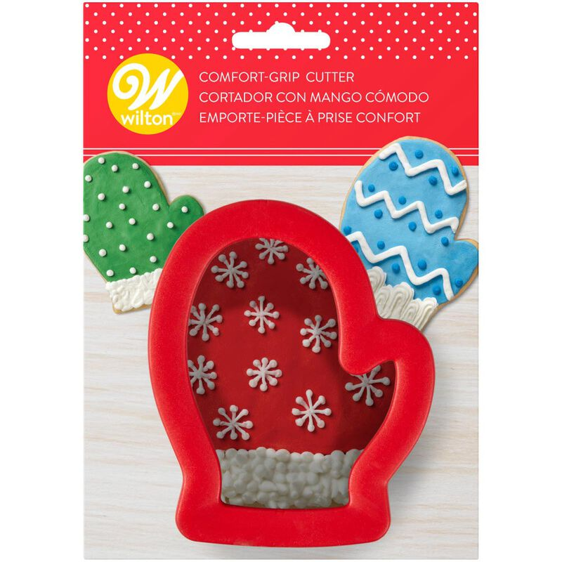Large Mitten Comfort-Grip Cookie Cutter image number 1