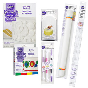 Intermediate Fondant Tool Set, 15-Piece