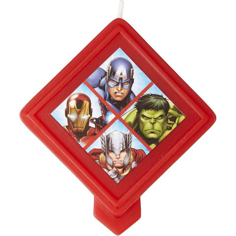 Avengers Birthday Candle image number 1