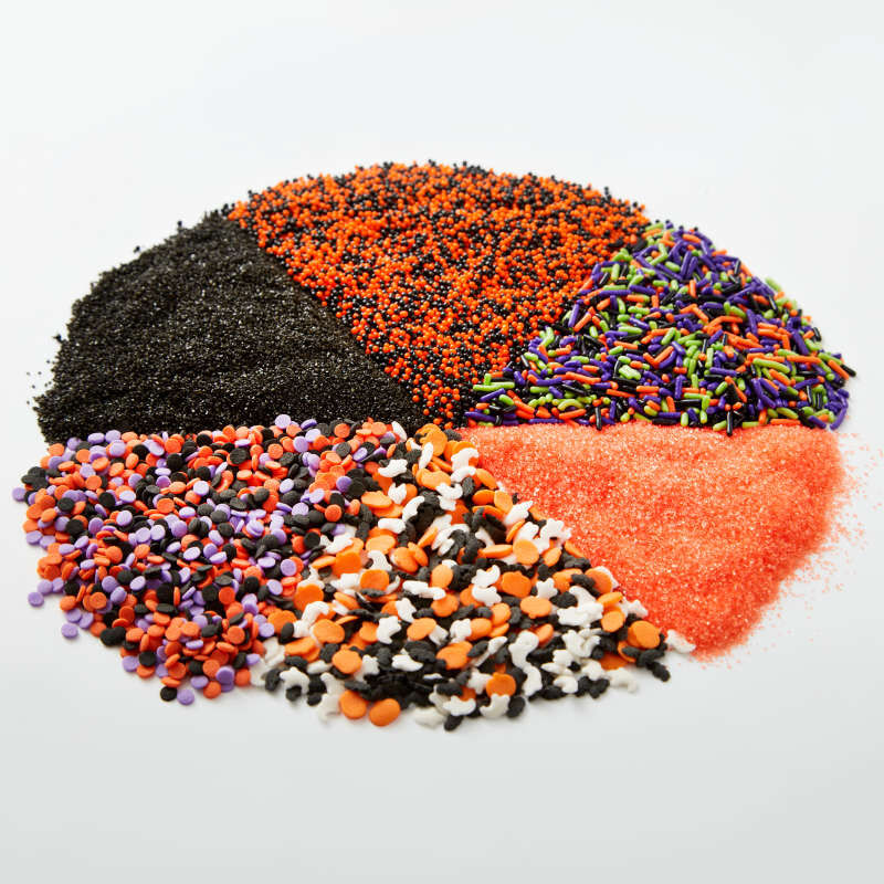 Halloween 6-Cell Sprinkles Mix, 6.56 oz. image number 3