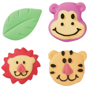 Jungle Pals Royal Icing Decorations