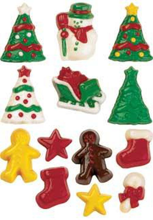 Mini Gingerbread Candy Mold 2 Pack Set