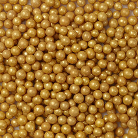 Gold Sugar Pearl Sprinkles 4.8 oz