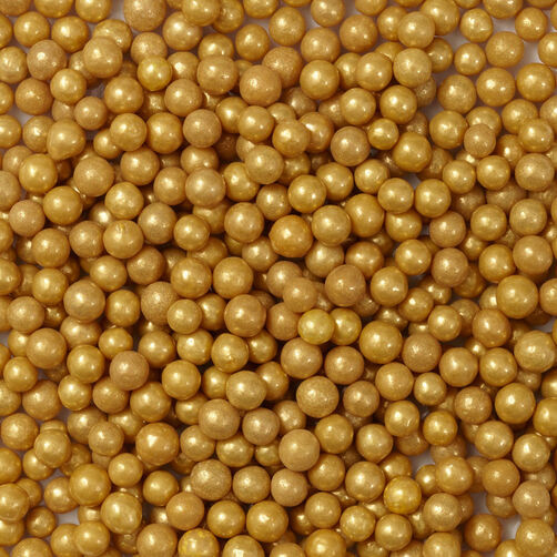 Gold Sugar Pearl Sprinkles