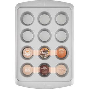 Avanti Everglide Metal-Safe Nonstick Muffin Pan, 12-Cavity