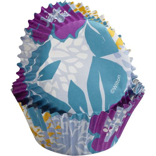 ColorCups Periwinkle Flowers Cupcake Liners