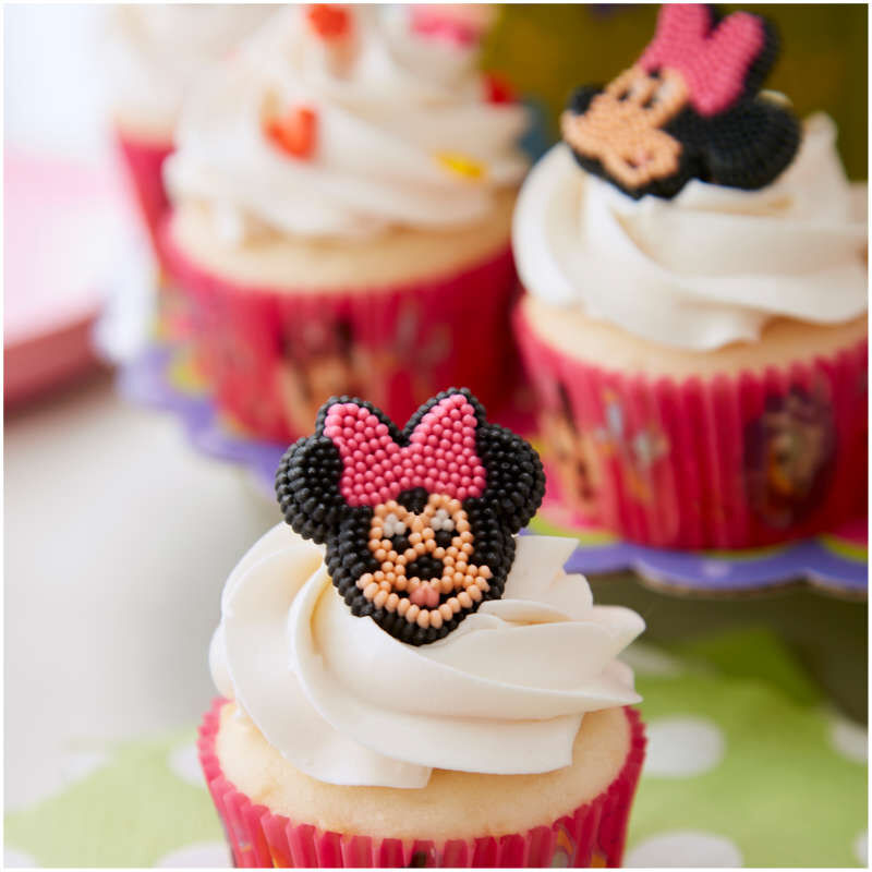 Minnie Mouse Cupcake Decorating Kit, 6-Piece image number 5