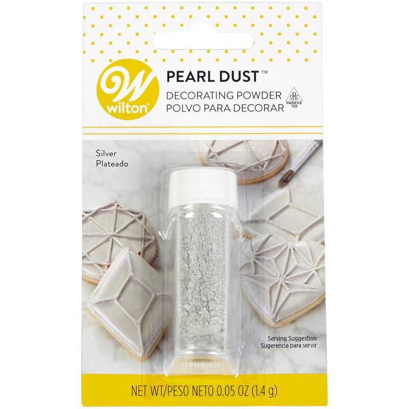 Silver Pearl Dust, 0.05 oz. image number 0