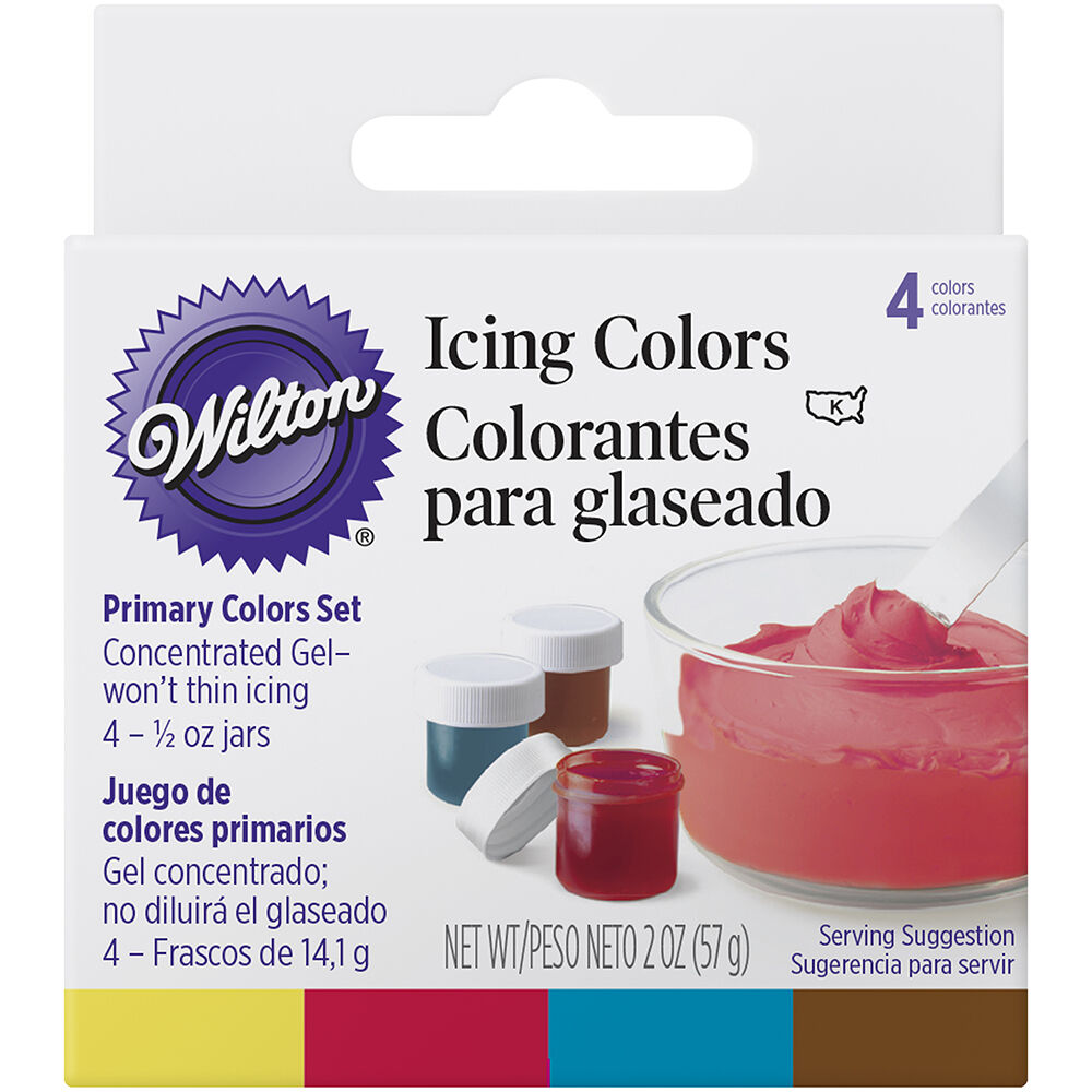 Primary 4 - Icing Colors Set | Wilton